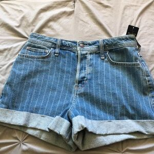 Ultra high rise shorts